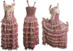 women 's dress PNG by selena2016