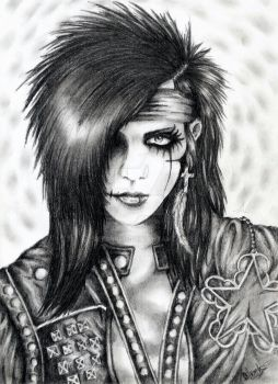 Andy biersack by Set0nFire