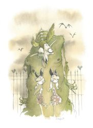 Mickey The Rat 2013 by GrisGrimly