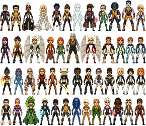 X-Men So Far - Part 2 by ThatsSoHaydn