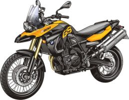New BMW f800 GS by Bmart333