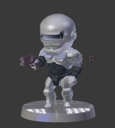 SD Robocop by evldemon
