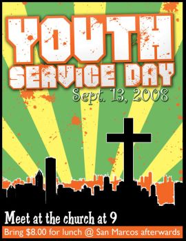 Service Day Flyer by christians