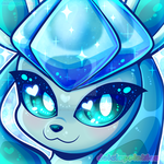 PKMN: Glaceon Icon by Dolcisprinkles