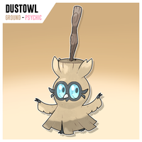 Dustowl by SirAquakip