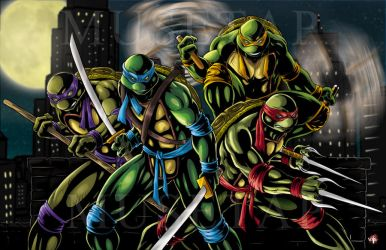 TMNT Color by WiL-Woods