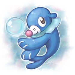 Popplio by EemsArt