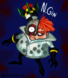 Dr. N.Gin by splendidland