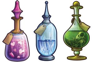 Potions by Taylor-the-Weird