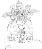 The Grimey One Army - Sketch by tuan-hollaback
