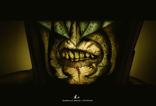 THE MOUTH OF SAURON by angelgaby