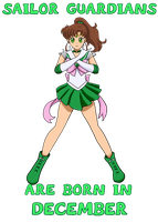 Sailor Jupiter Birthday Design by CardcaptorKatara