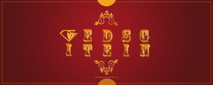 My Official GOLD LOGO by gietdesign