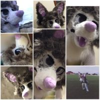 Palths fursuit head by aliensphynx
