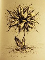 Flower of death by Grandere