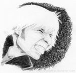 Ballpoint Mike Dirnt by kelly42fox