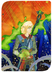 Inquisitor Sylvian Lavellan by Eriin-chan
