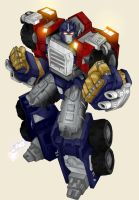 Armada Optimus Prime by RoadbusterDoM