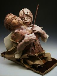 My Lament- Sculpture by Evalad