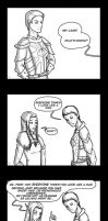 Dragon Age Comic - Cass does NOT LOOK LIKE A MAN by YukiSamui