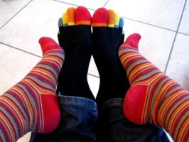 Our socks by Santian69