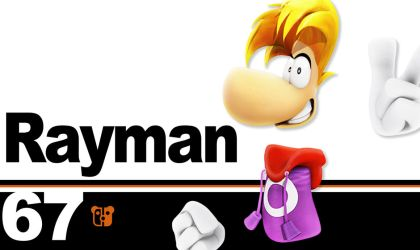 Super Smash Bros. Ultimate Rayman by PeterisBeter
