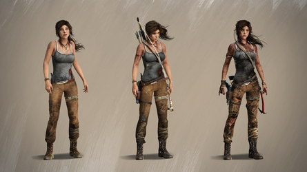 Getting Stronger [Tomb Raider 2013] by MicheleMouse