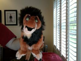Scar Plushie by FireNationPhoenix