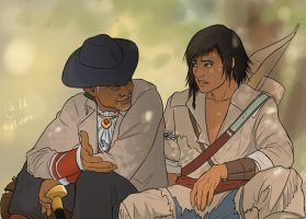 Achilles and Connor by Autumn-Sacura