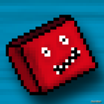 Red Cube by Pixel-Shell