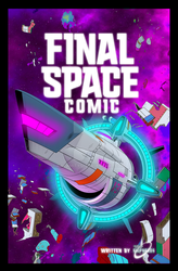 Final Space comic strip Cover page