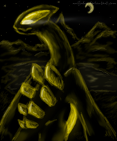 black a n d gold by wolfxdog