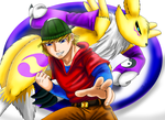 REQUEST Alexander and His Renamon by saikyoryuuougi