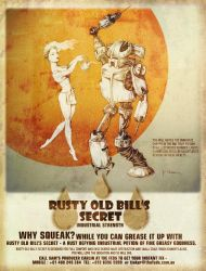Rusty Old Bill's Secret by ekrem-onemultiplied