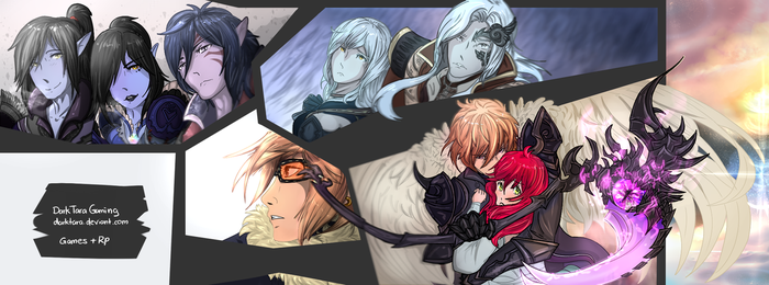 Banner on my Gaming -facebook by DarkTara