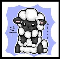 Baby Sheep by singes