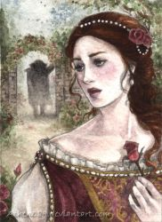 ACEO Beauty and the Beast by Achen089