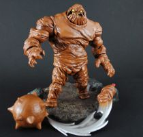 Custom BTAS stylwe Clayface action figure by Jin-Saotome