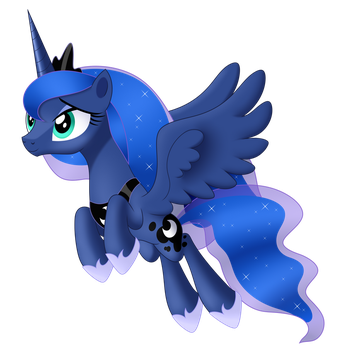 Princess Luna by MirrorCrescent