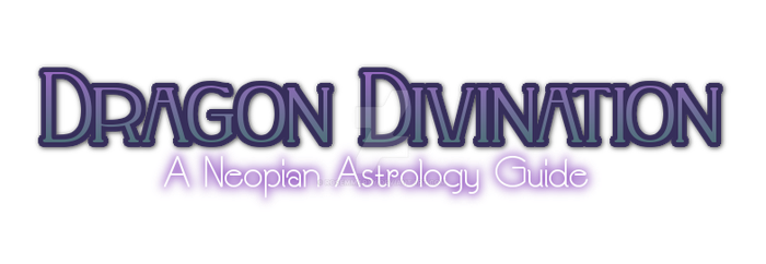 Dragon Divination - a Neopian Astrology Guide by rosemmaryy
