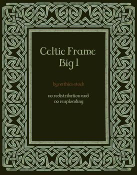 Celtic Frame Big by nathies-stock