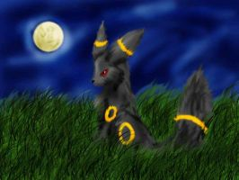 Umbreon by Darkend-Tigress