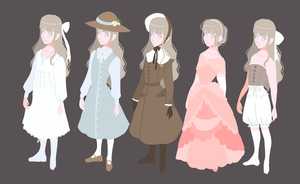 Milly's Wardrobe by saraah11