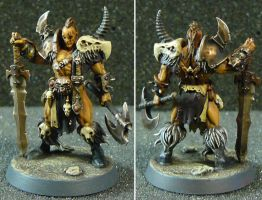 Silver Tower Darkoath Chieftain by SouthPawStudio