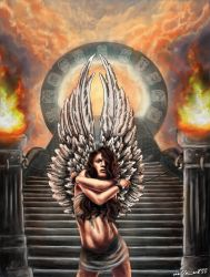 banished from heaven by JoannaGebka