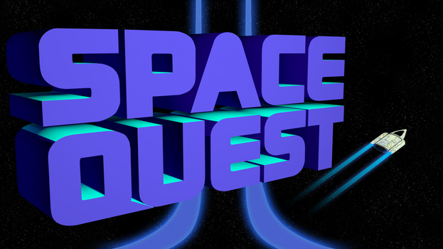 Space Quest 2 1440p (Ship/Trails/II Streaks) by MusicallyInspired