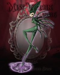 Miss Villain 2016 - Round 1 : Outer Space by Moryartix