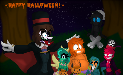~A Happy Halloween from my Inside Out childs :^)~ by SonicFazbear15