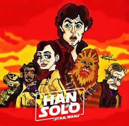 SOLO A STAR WARS STORY by biel12