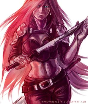 Katarina by NightmareOfReality